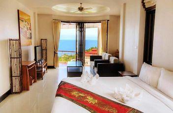 Hotel Sunset Hill Resort Ko Pha Ngan Luxury Accommodation